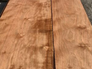 wide curly cherry lumber, premium lumber, wooden tops