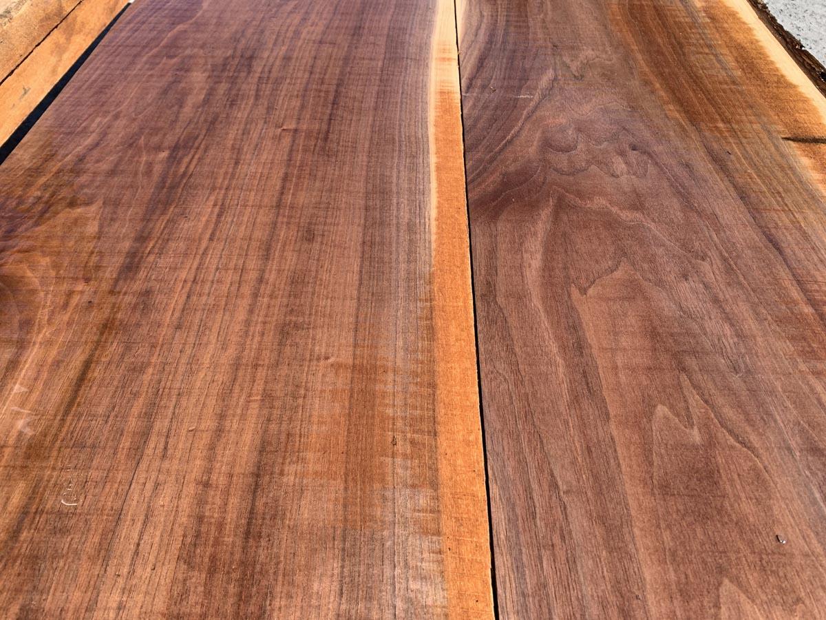 wide walnut lumber, premium lumber, hardwood tops