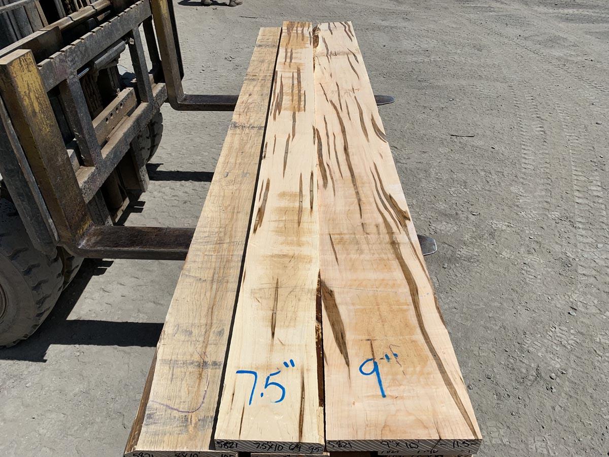 ambrosia maple lumber, wooden tops, hardwood tops