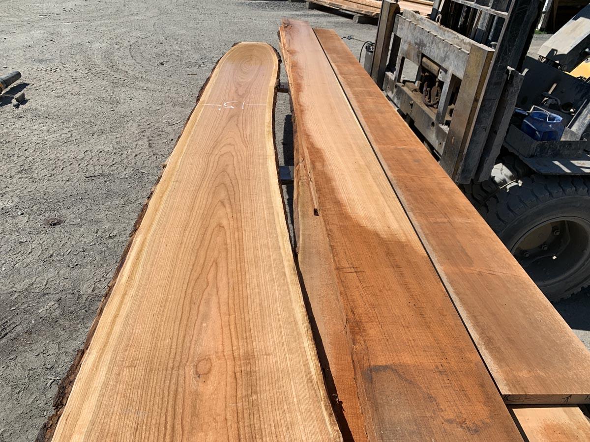 cherry lumber, wooden tops, hardwood lumber