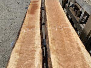 live edge curly cherry lumber, premium lumber, hardwood lumber