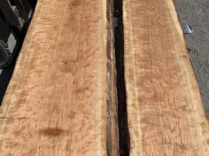 live edge curly cherry lumber, premium lumber, high quality lumber