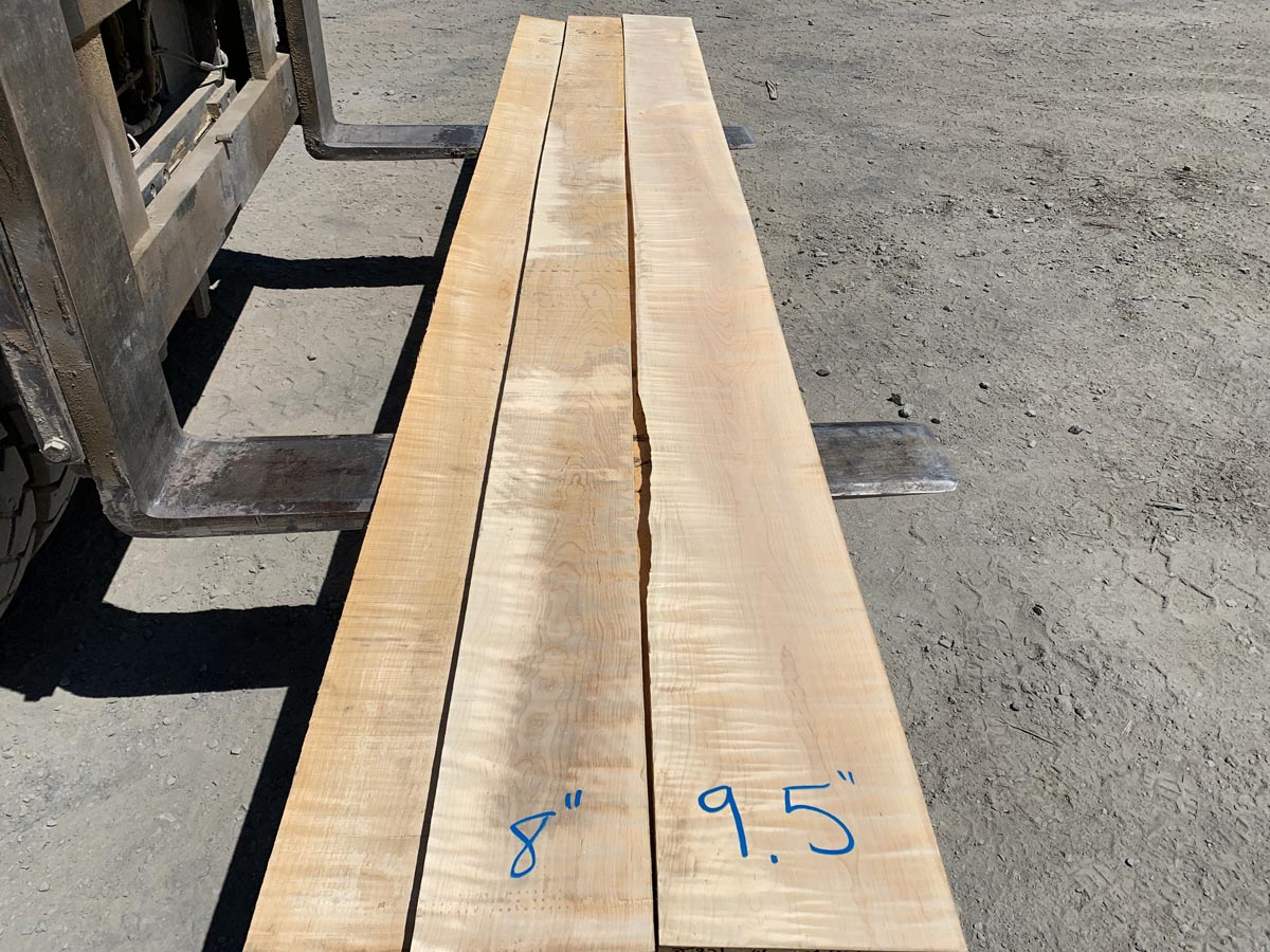 tiger maple lumber, high quality tiger maple, wooden tops