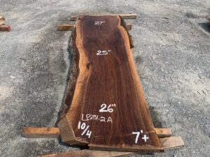 live edge walnut slab, premium hardwood, high quality hardwood