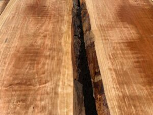 Curly cherry lumber, live edge curly cherry, premium curly cherry