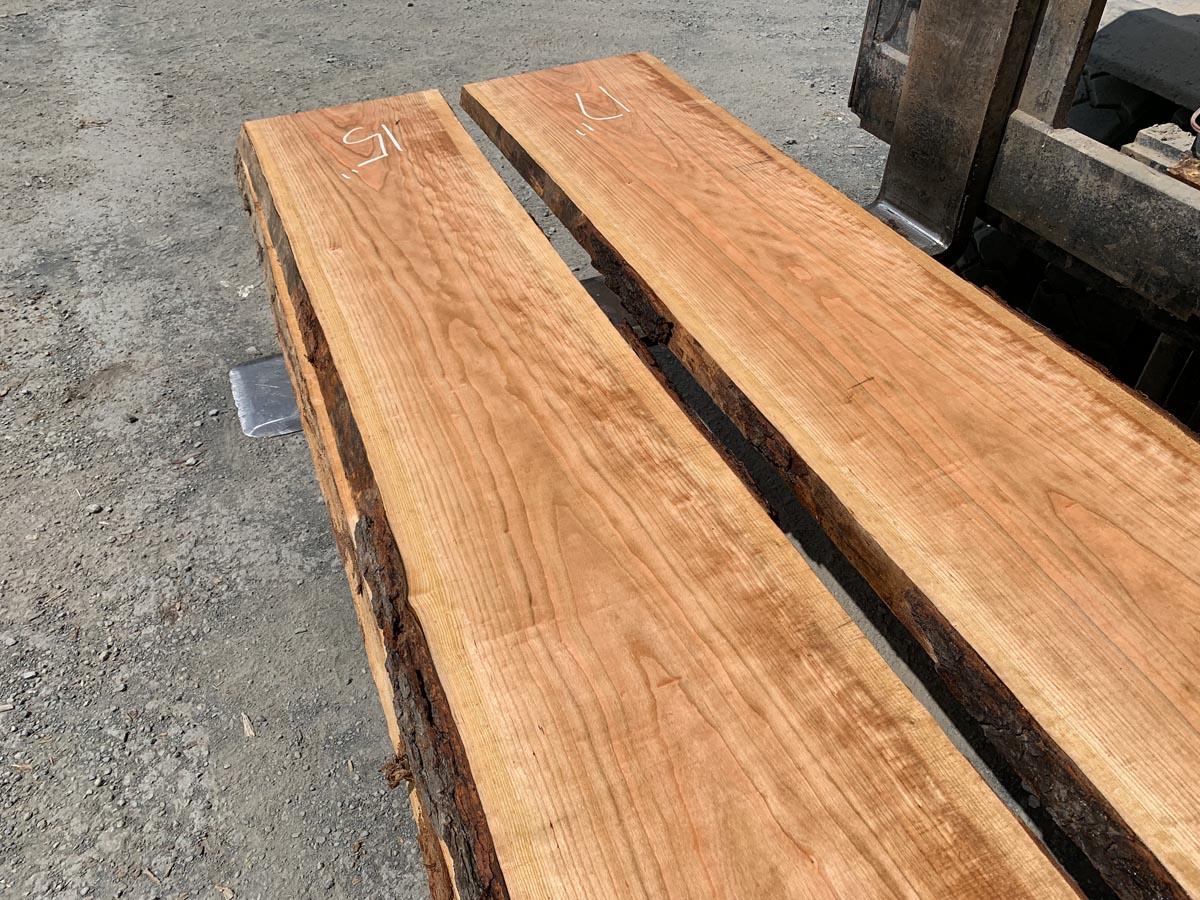curly cherry lumber, hardwood tops, high quality lumber