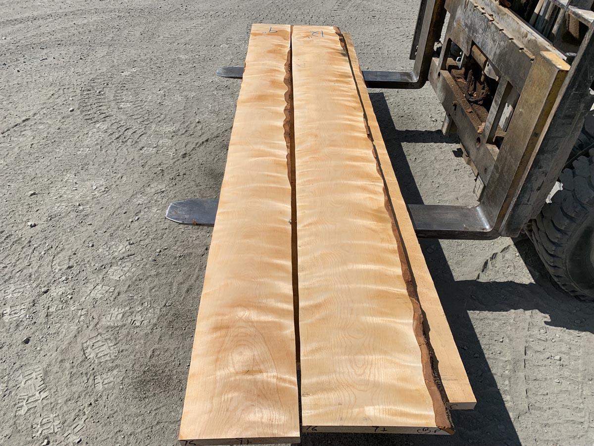 flame birch lumber, premium lumber, high quality lumber