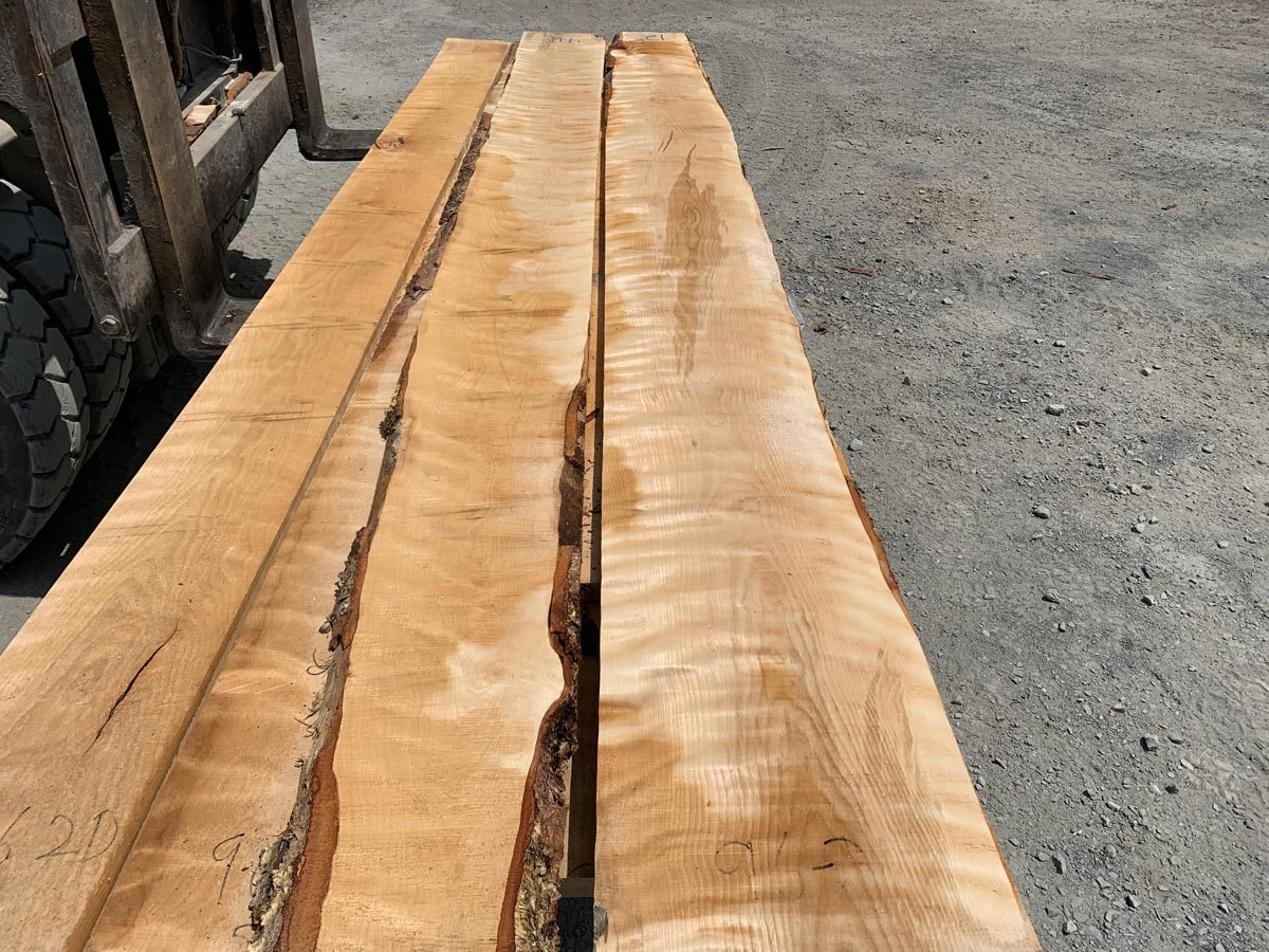 flame birch lumber, high quality lumber, wooden tops
