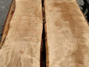 live edge flame birch lumber, premium lumber, wooden tops