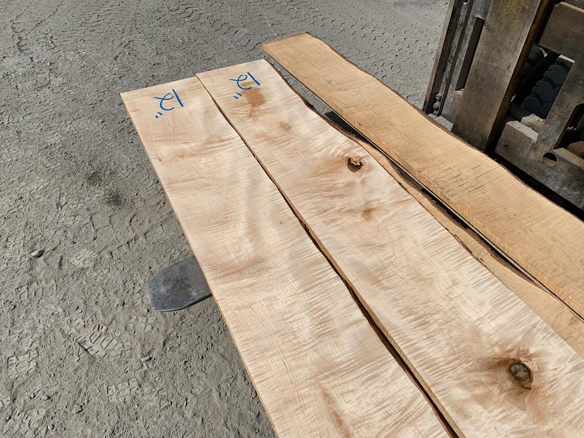 tiger maple lumber, hardwood lumber, wooden tops
