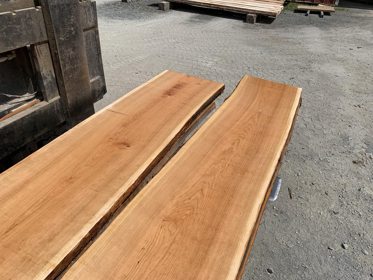 wide cherry lumber, wooden tops, premium cherry lumber