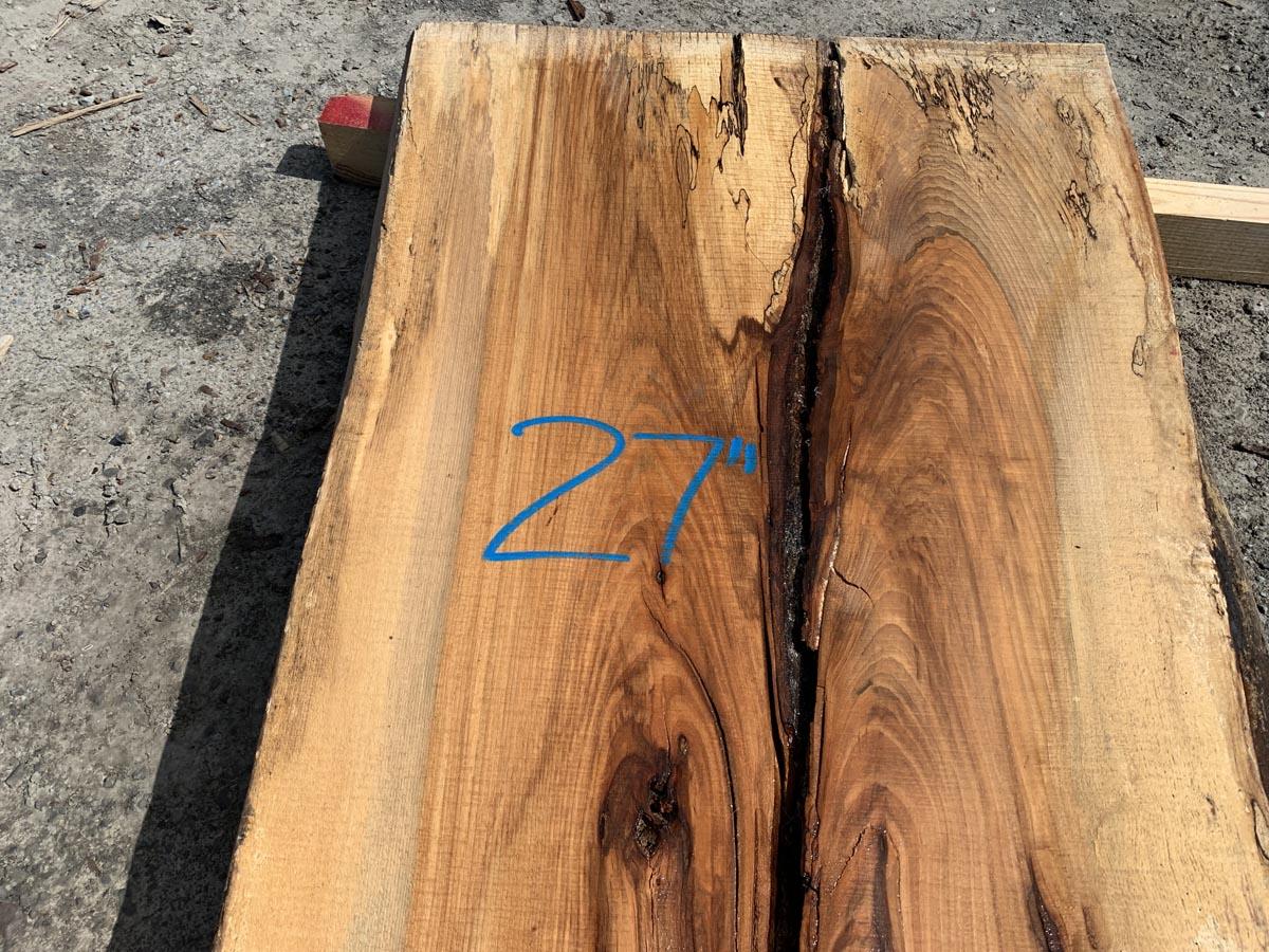 live edge rustic slab, hardwood lumber, wooden tops